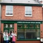 This is the renovated front of the Cheltenham Open Door Project that EMS were proud to help with.