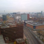 View from the 21st Storey at a property in Birmingham - asbestos survey