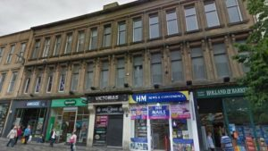 EMS are asbestos consultants to Holland and Barrett International and are attending the scene of serious Glasgow City Centre fire